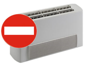 Ventil-convettore: incompatibile con il ripartitore calore